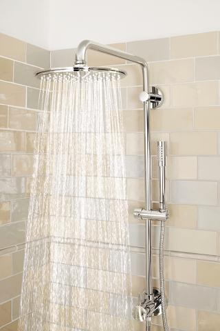 retro fit shower system shower systems grohe. Black Bedroom Furniture Sets. Home Design Ideas