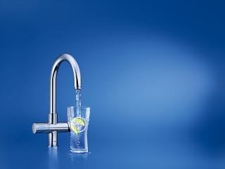 grohe blue professional water filter kitchen faucets. Black Bedroom Furniture Sets. Home Design Ideas