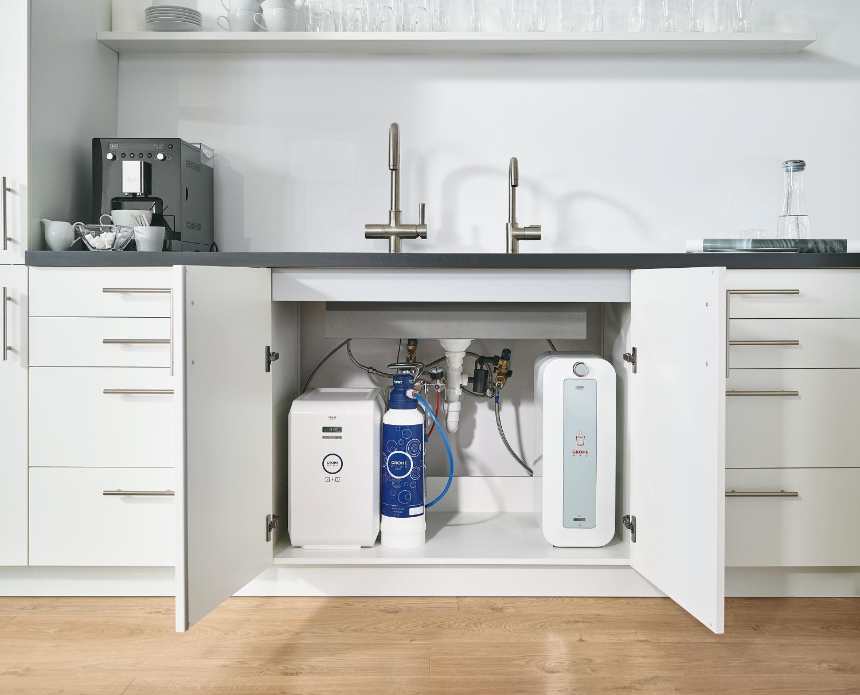 grohe grohe blue professional gek hlter und gefilterter wassergenuss f r b rok chen. Black Bedroom Furniture Sets. Home Design Ideas