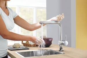 Minta Touch Kitchen Faucets Grohe