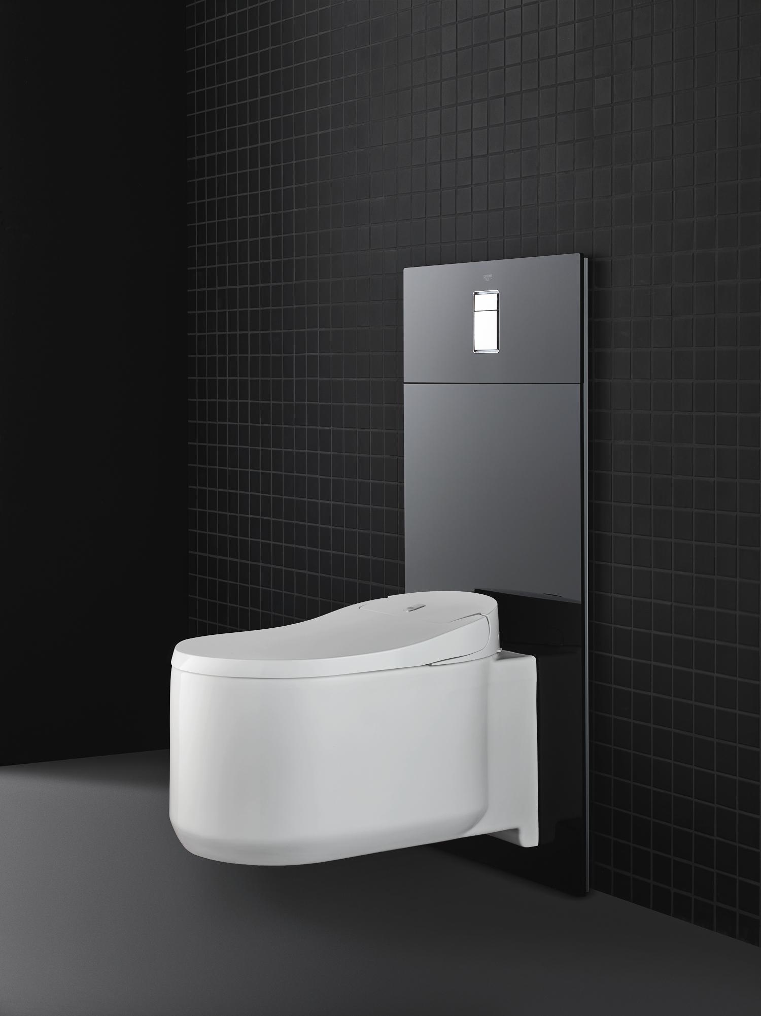grohe dusch wc sensia arena einfach nachr sten mit den. Black Bedroom Furniture Sets. Home Design Ideas